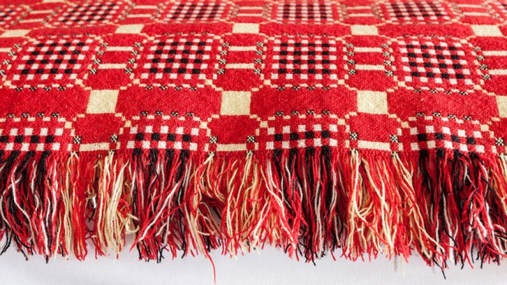 Melyn Ty Gwynt Blanket - Made in Pembrokeshire