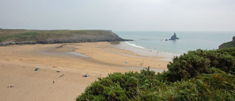 Broad Haven Beach South Pembrokeshire