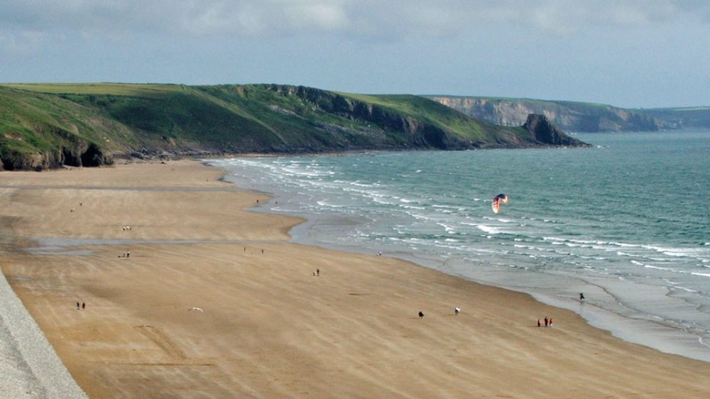Plenty to do on Newgale Beach - Surfing, Kite Surfing and Kayaking