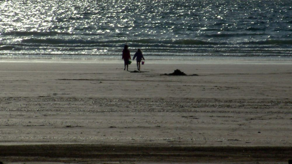 Broad Haven Beach Pembrokeshire - just 5 miles from Rochgate Cottages